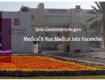 Hospital vacancy in Qatar 2020